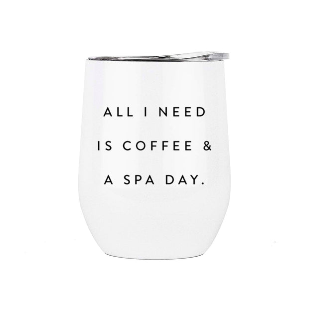 Coffee and A Spa Day Tumbler