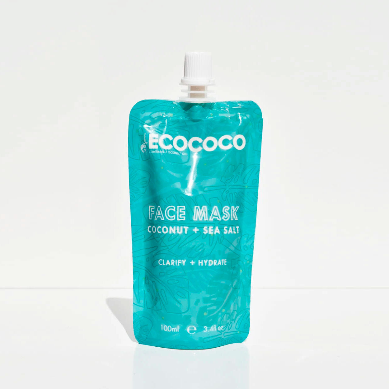Squeezie Face Mask Coconut & Sea Salt | Ecococo