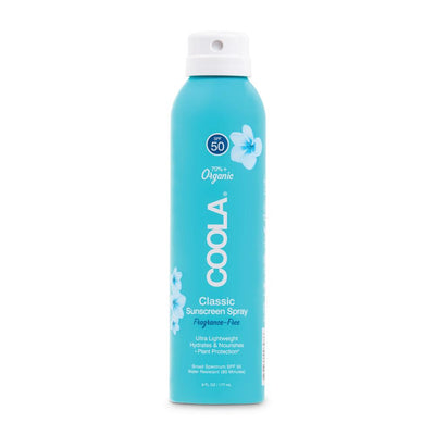 Classic Body Organic Sunscreen Spray SPF 50 - 6 fl oz | COOLA