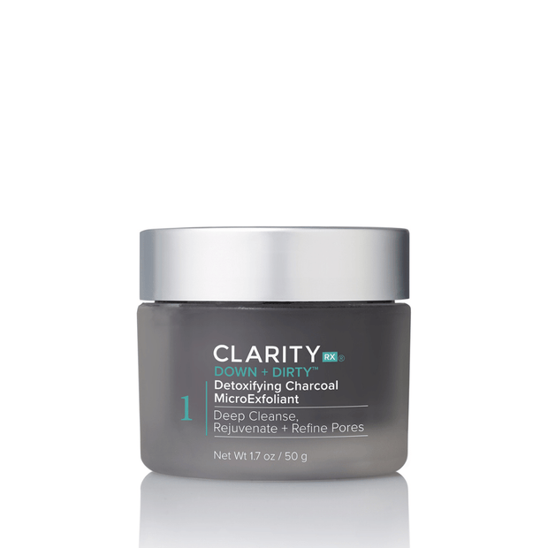 Down + Dirty™ Detoxifying Charcoal MicroExfoliant | ClarityRx