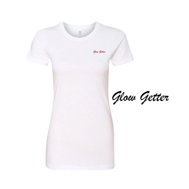 Glow Getter Embroidered T-Shirt | Lucky Owl