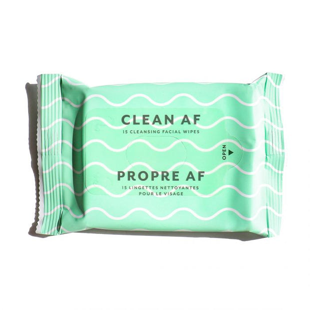 Clean AF Facial Cleansing Wipes | Patchology