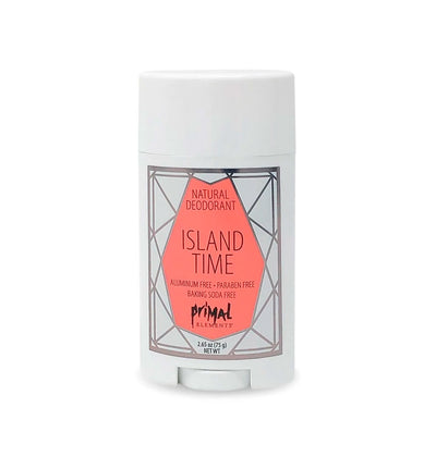 Natural Deodorant 2.65 oz. - ISLAND TIME | Primal Elements