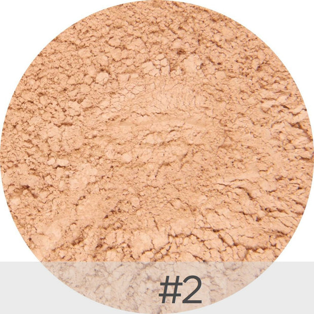 Mineral Powder Sun Protection SPF 50 in Medium #2 | La Bella Donna