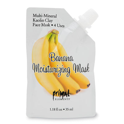 Banana Moisturizing Face Mask | Primal Elements