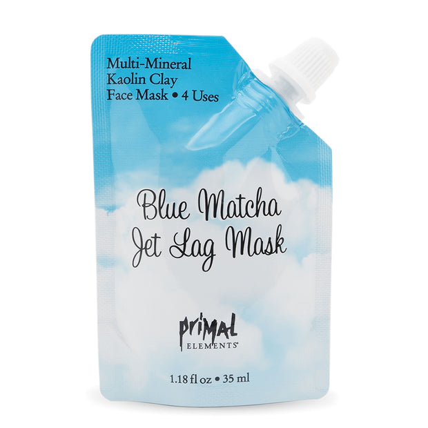 Blue Matcha Jet Lag Face Mask | Primal Elements