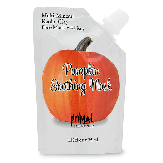 Pumpkin Soothing Face Mask | Primal Elements