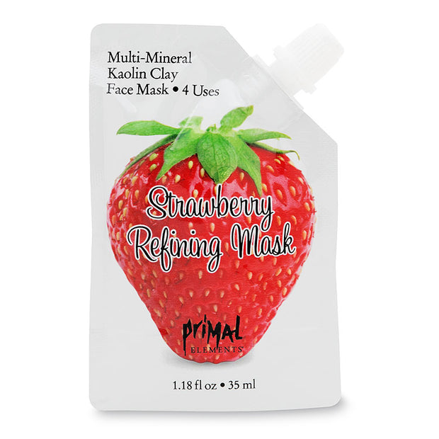 Strawberry Refining Face Mask