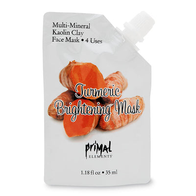 Tumeric Brightening Face Mask | Primal Elements