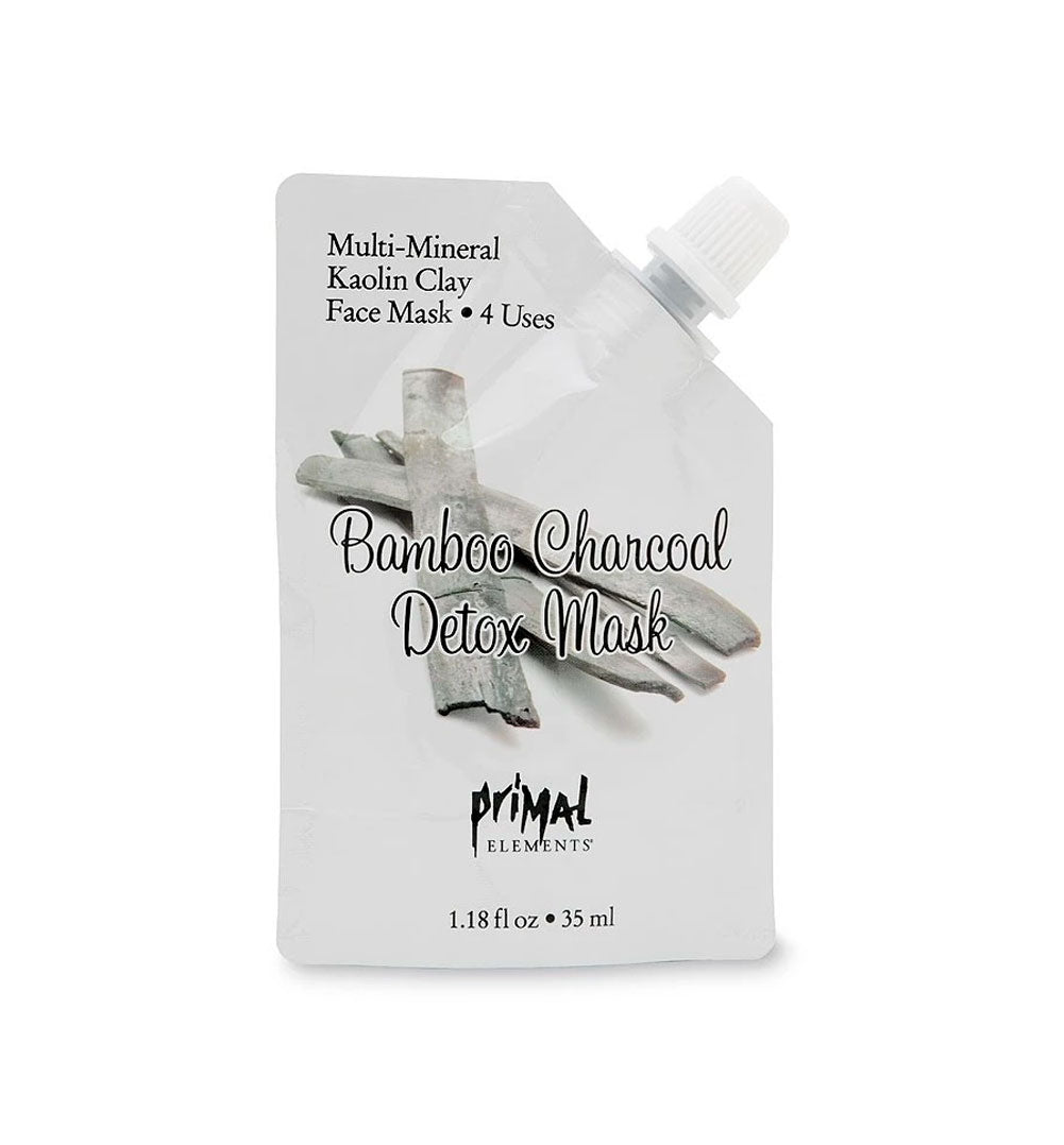 Face Mask - BAMBOO CHARCOAL DETOX