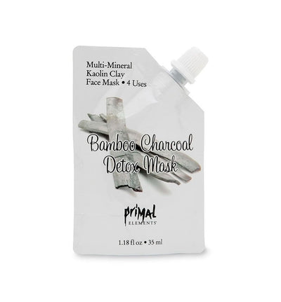 Face Mask - BAMBOO CHARCOAL DETOX | Primal Elements