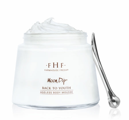 Moon Dip Back To Youth Ageless Body Mousse | Farmhouse Fresh