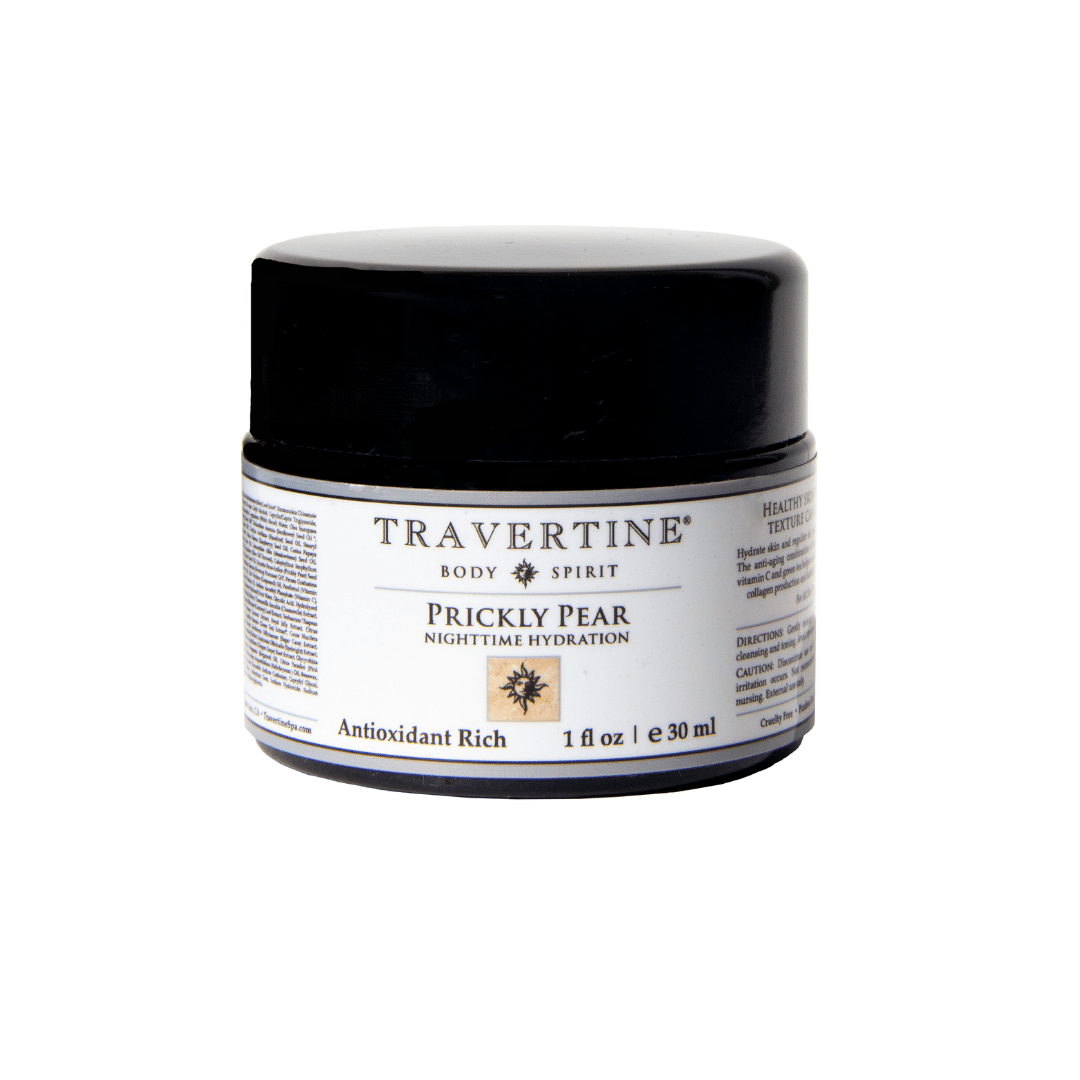 Prickly Pear Nighttime Hydration | Travertine Spa