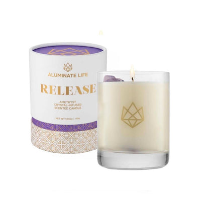 Release Glass Candle | Aluminate Life