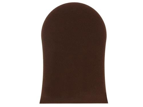 Tanning Mitt Mock Croc Effect with Brown Flock