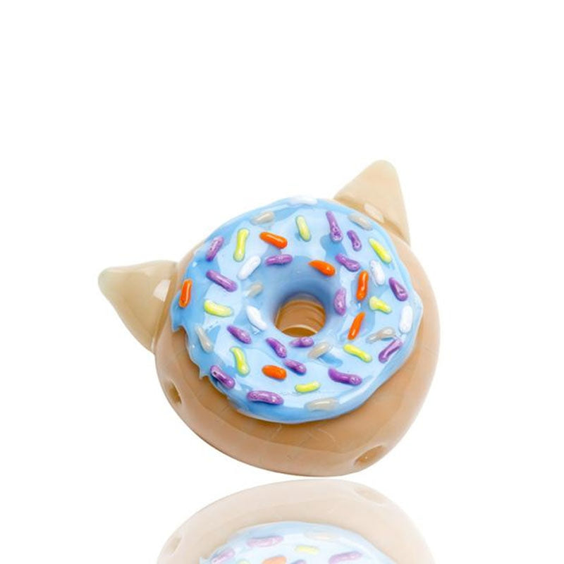 Blueberry Donut Glass Pipe