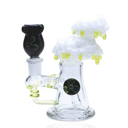 Radioactive Bomb Cloud Glass Rig