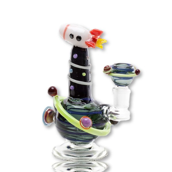 Rocket Space Ship Glass Rig