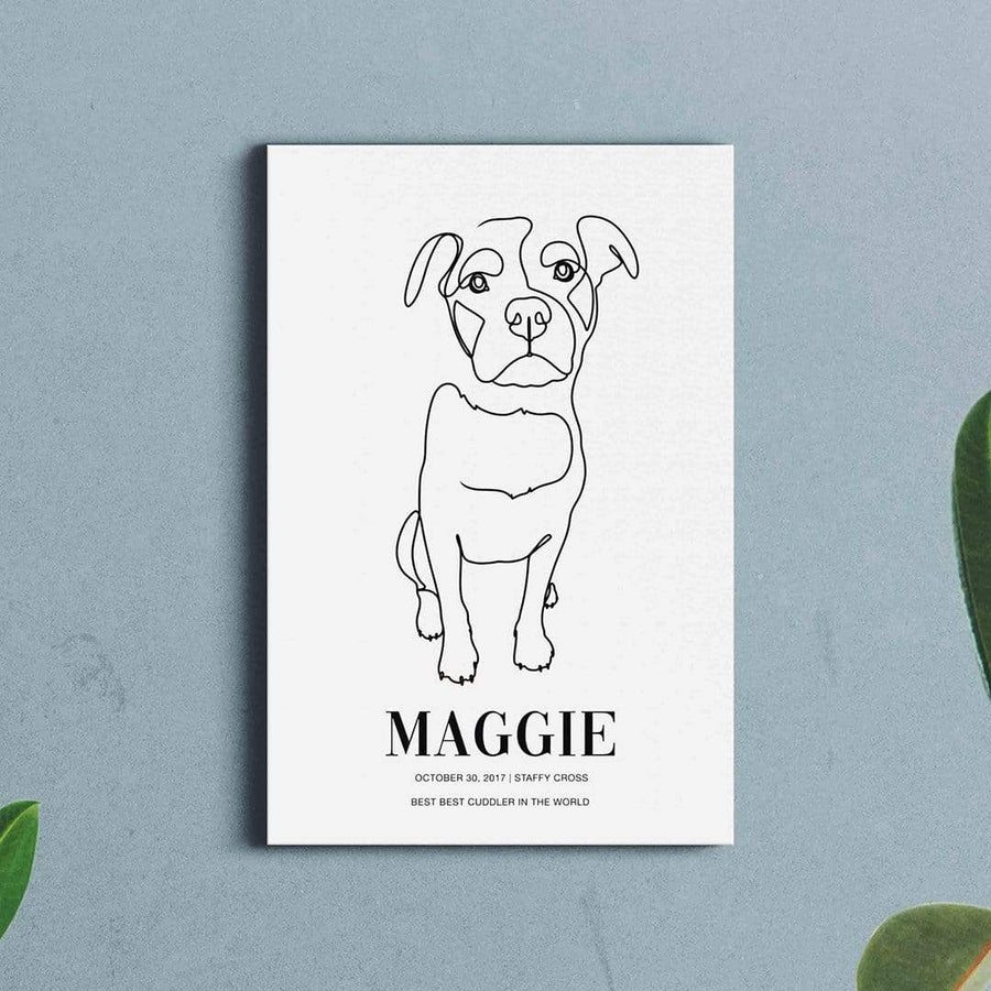 Vogue - Custom Pet Canvas - Vogue Paws