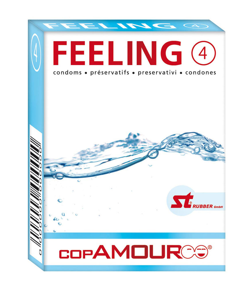 Cop Amour Feeling Condoms (4 Pack)
