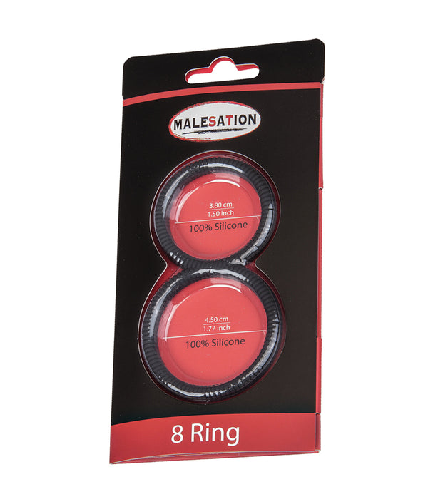 Malesation 8 Cock & Ball Ring