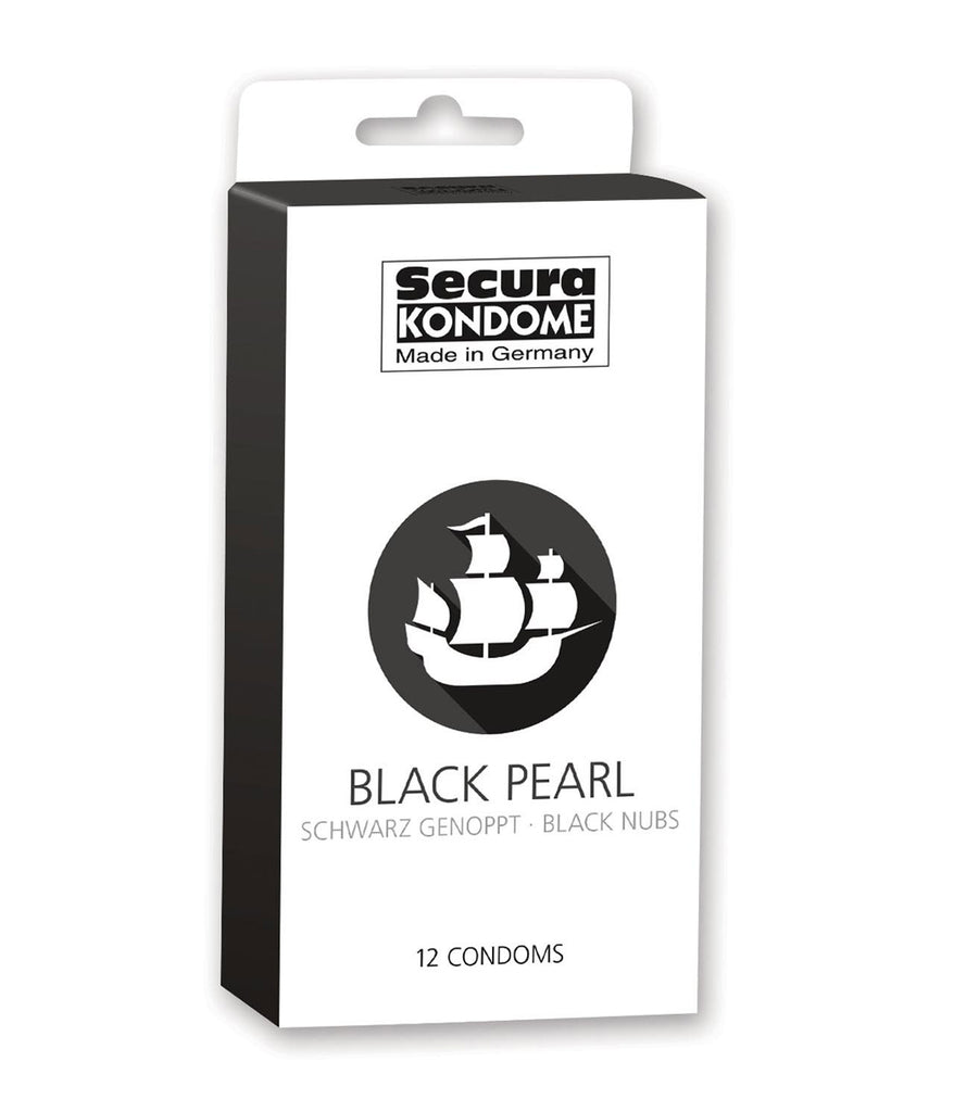 Secura Black Pearl Condoms (12 Pack)