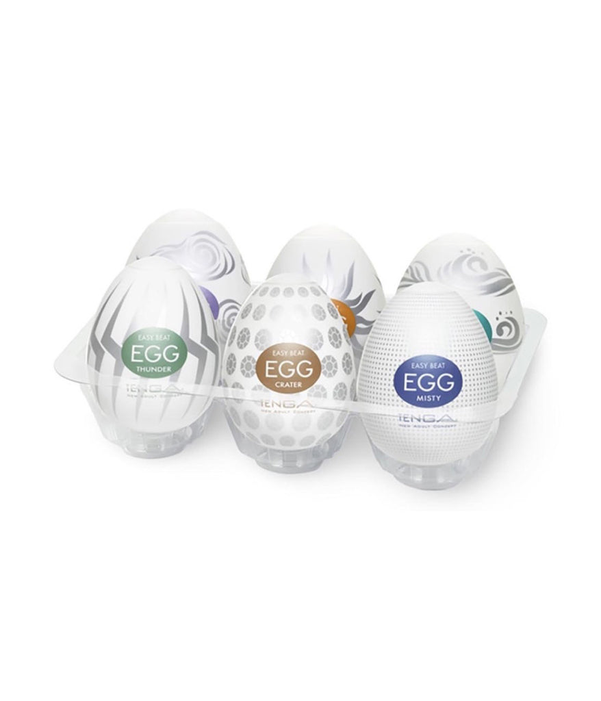 Tenga Hard Boiled Mastubating Egg Pack