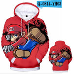 Super Smash Bros. Ultimate Mario Reveal Hoodie