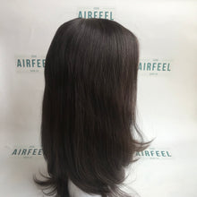 Load image into Gallery viewer, Mono Top Lace Front Wefted Back Chinese Cuticle Virgin Human Hair Full Wig For Ladies (MT11)