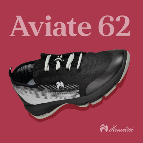 Men's Henselite Aviate 62 Black/Grey