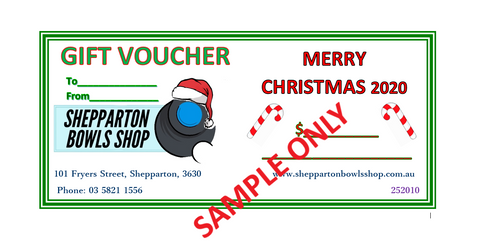 Christmas Gift Vouchers - FREE POSTAGE