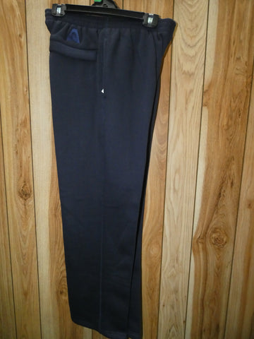 $20.00 CLEARANCE: Fleece Tracksuit Pants BA Approved Black, Navy & Bottle Green