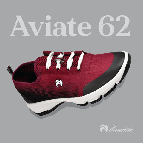 Men's Henselite Aviate 62 Black/Maroon