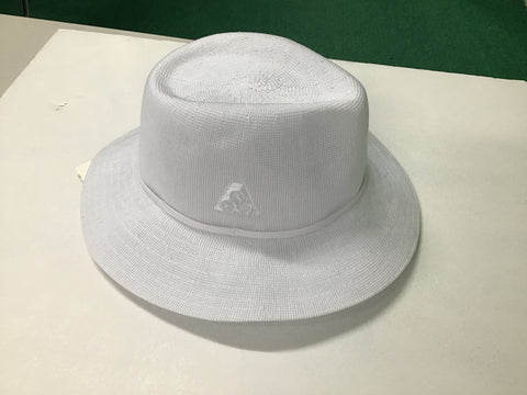 Broad Brim White Hat