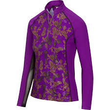 NEW Greg Norman Imperial Purple: Windsor Long Sleeve