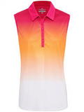 Sleeveless Peach Sporte Leisure