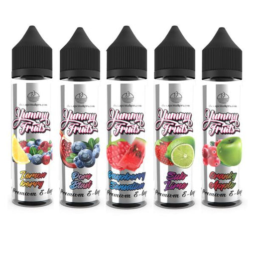 Yummy Fruits by The Vape Makers 50ml Shortfill 0mg (70VG/30PG)