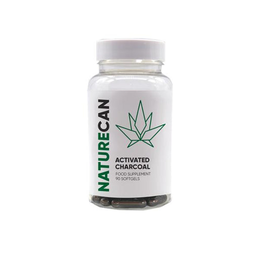 Naturecan Activated Charcoal Capsules - 90 Caps