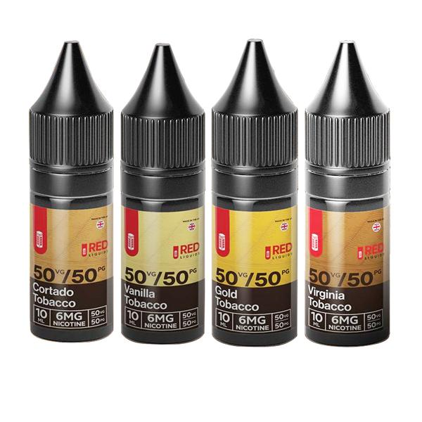 Red Tobacco 18mg 10ml E-Liquids (50VG/50PG)