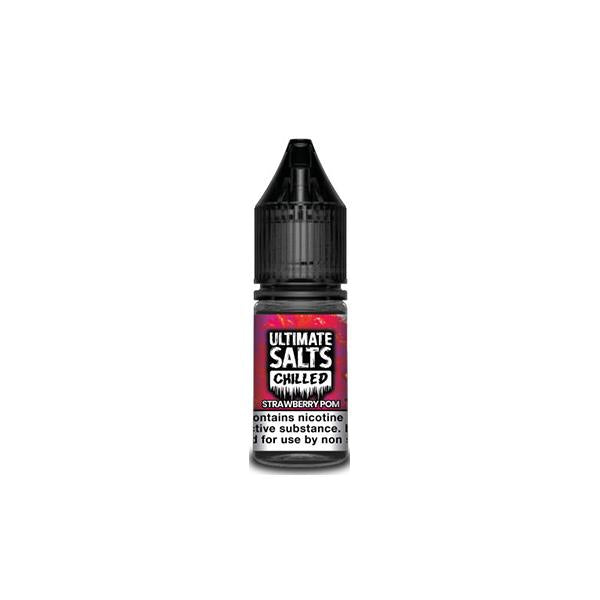 20MG Ultimate Puff Salts Chilled 10ML Flavoured Nic Salts (50VG/50PG)