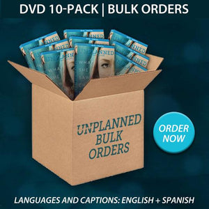 Unplanned DVD + Digital(10 pack)