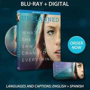 Unplanned Blu-Ray + Digital