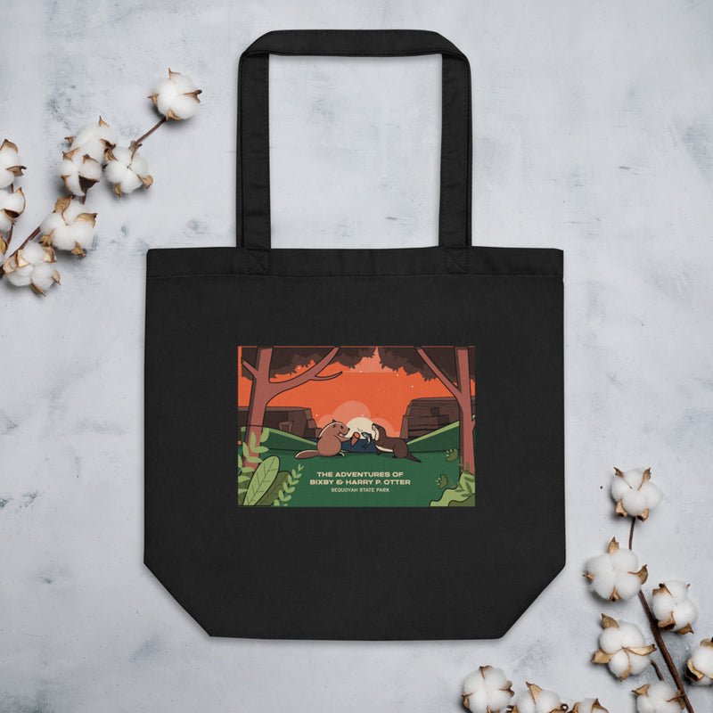 Bixby Y. Beaver & Harry P. Otter - Eco Tote Bag