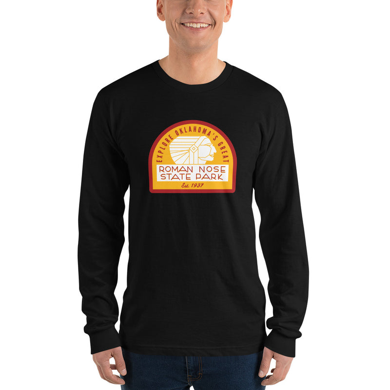 Roman Nose State Park -Long Sleeve T-Shirt