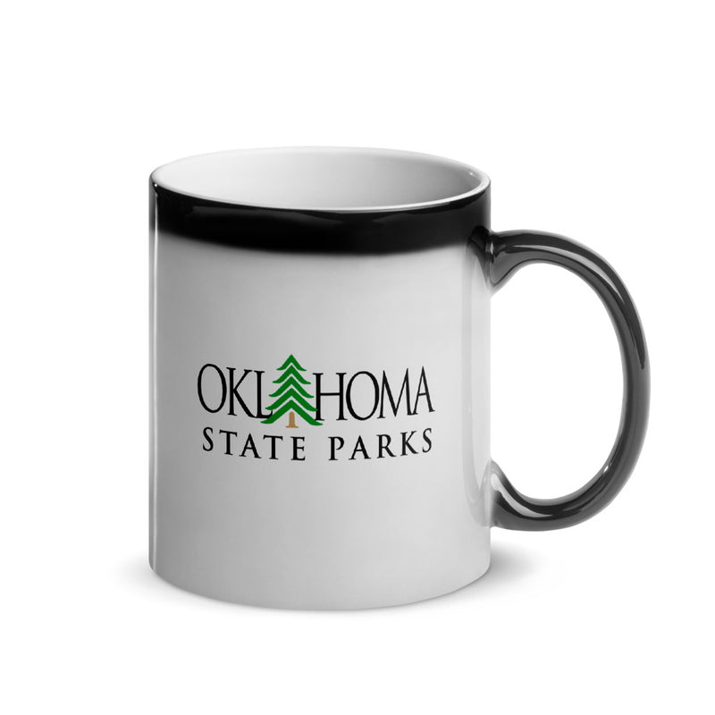 Oklahoma State Parks - Glossy Magic Mug