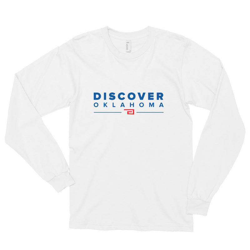 Discover Oklahoma - Long Sleeve T-shirt
