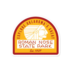 Roman Nose State Park - Bubble-free stickers