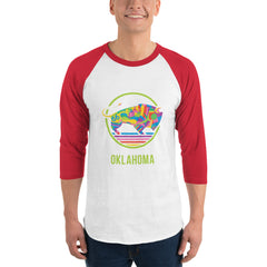TravelOK - 3/4 Sleeve Raglan Shirt