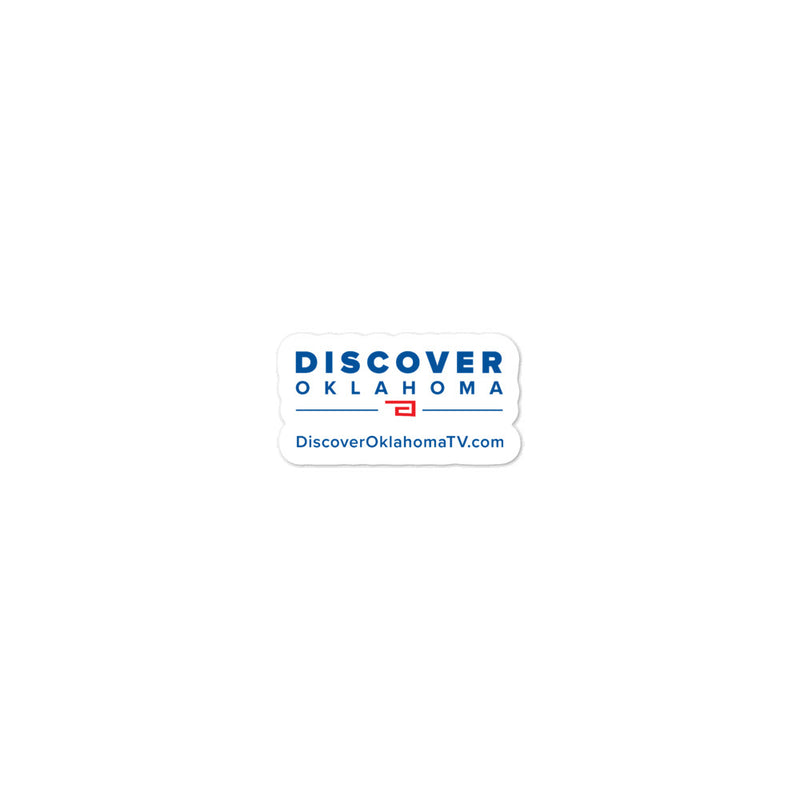 Discover Oklahoma - Bubble-free stickers