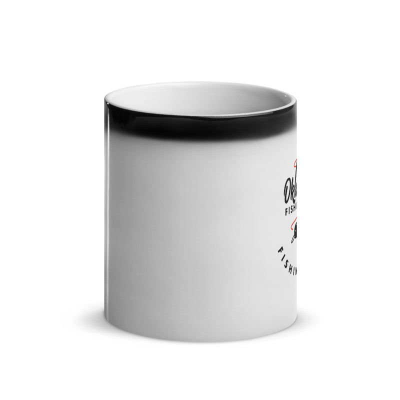 Oklahoma Fishing Trail - Glossy Magic Mug